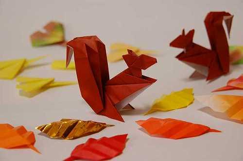 簡単 折り紙 秋の折り紙折り方 : divulgando.net