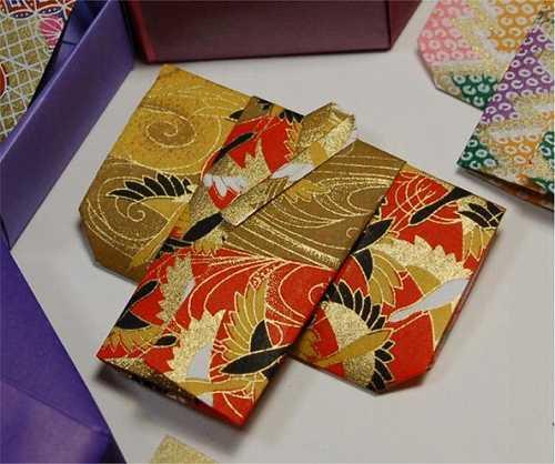 すべての折り紙 ぽち袋 折り紙 : 画像 : 【折り紙】千代紙・和紙 ...